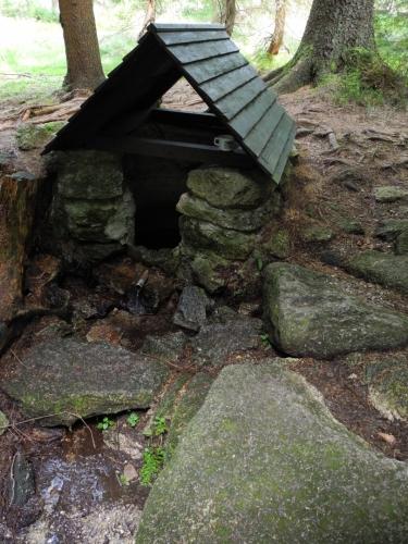 Studánka pod Šibeníkem.