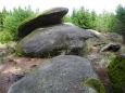 Navršené kameny tady opravdu tvoří neobvyklé přírodní dílo.
