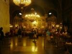 Pravoslavný vnitřek kostela