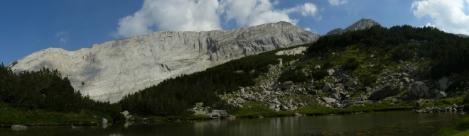 Panorama od jezera