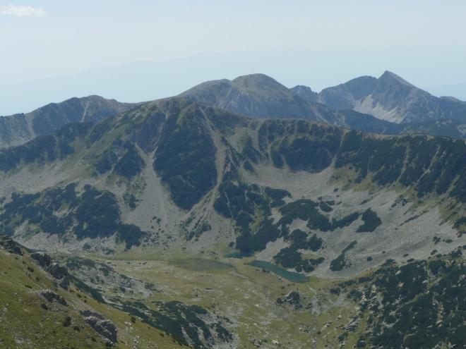 K žulové části pohoří jsme dorazili v podstatě za den.