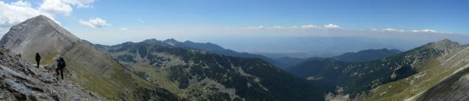 Panorama Vichrenu a okolí