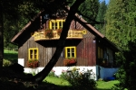 Lesní chata pod Vyhlídkou.