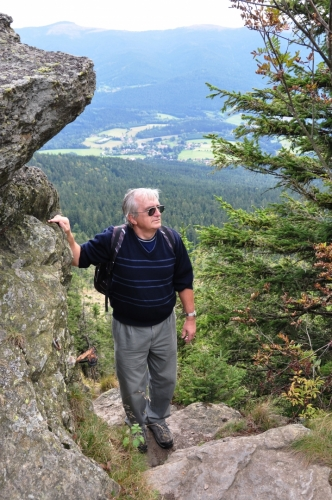 Zdatný turista Václav.