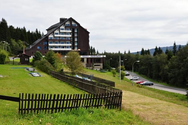 Hotel Horizont na Hofmankách.