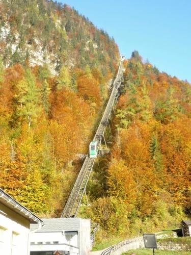 Lanovka na vrchol Salzberg