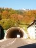 Tunel skrz hory