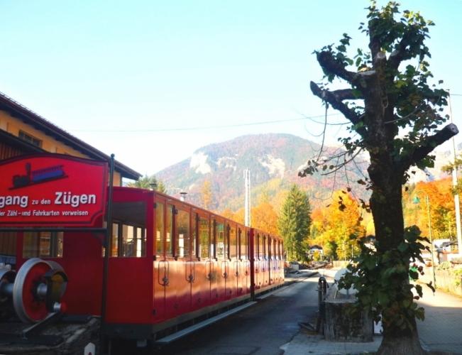 Zubačková lanovka Schafbergbahn