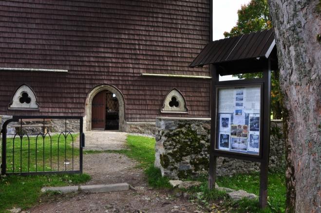 Kostel byl renovován především díky sbírce. Hodně do ní přispěli i původní rodáci.