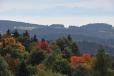 Z rozhlednové plošiny Vítkova Hrádku je k Alpám nejblíže.