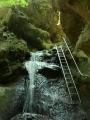 podle bedekrů se tady jindy leze v řádném vodopádu