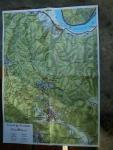 mapa pohoří Pilis