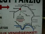 jediná mapa kterou jsem našel ... dál už jsou zákazy vjezdu