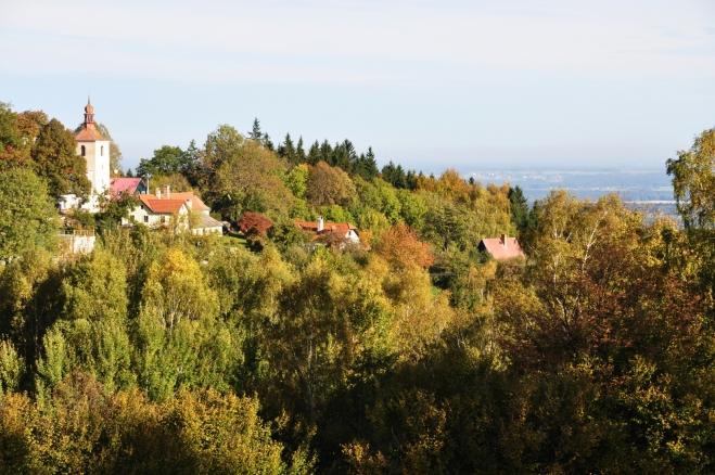 Kostel v Hojné Vodě.