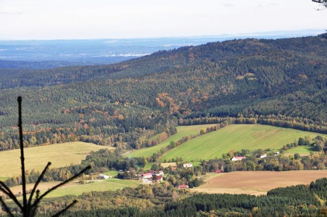 Šejby, místo přímo u hranic s Rakouskem.