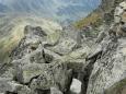 Drsné kamenné moře na Kamenici