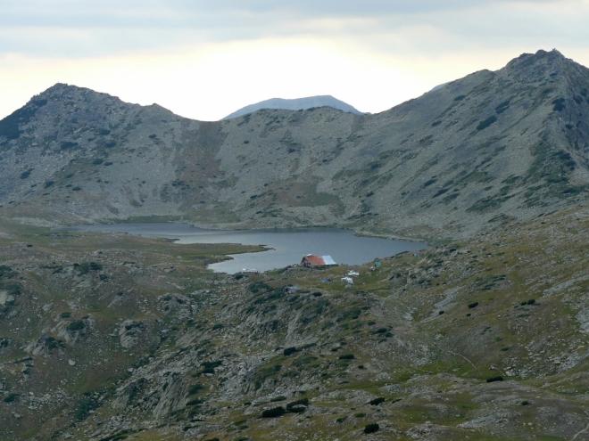 Jezero Tevnoto ze sedla Djena Kralevdvorska porta