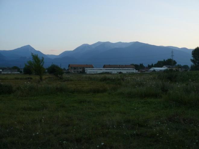 Poslední pohled na Pirin. Snad se tam ještě dostaneme.