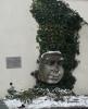 Kamenná maska v Pasově (der Passauer Tölpel ala Pasovský blb)