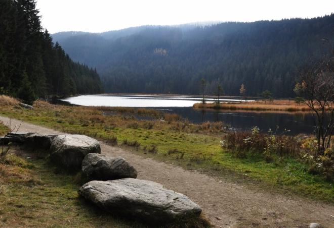 Malé Javorské jezero.