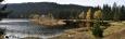 Seehütte nad jezerem.