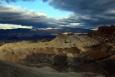 California, Death Valley, Zabriskie Point - východ slunce