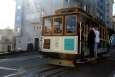California, San Francisco - kabelová tramvaj