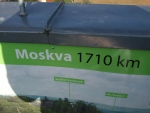 ze sedmero horami, osmero řekami a širou stepí je Moskva ....