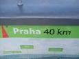 do matičky Prahy, je to co by kamenem dohodil ... a zbytek doběhl .....