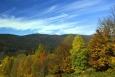 Pohled na Luzný z Bavorska