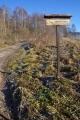 Lesní cesta Hornošpičácká. Tady ještě netušíme, že míříme trochu jinam než jsme původně chtěli. Nakonec to ale nebude na škodu.