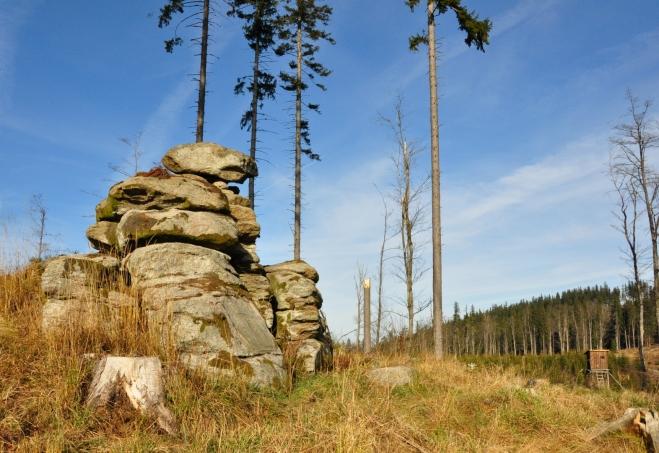 Adolfstein bez vysokých stromů, které vzal s sebou orkán Kirill, je kouzelný.