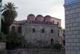 Kostel San Cataldo - pohled z piazzo Bellini