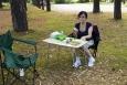 Piknik na odpočívadle palermské dálnice