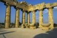 Tempio E - interiér chrámu