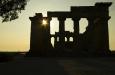 Tempio E v pozdně odpoledním slunci, před západem jsme byli z parku vypoklonkováni, zavírá se v 18:30