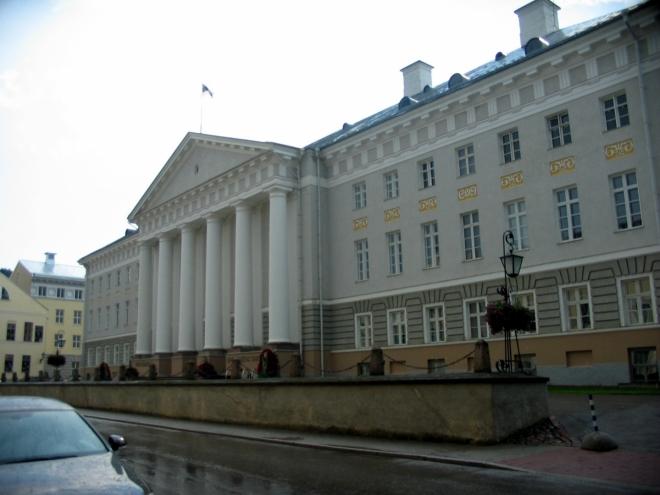 Hlavní budova univerzity