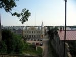 Rakvere, pohled od hradu