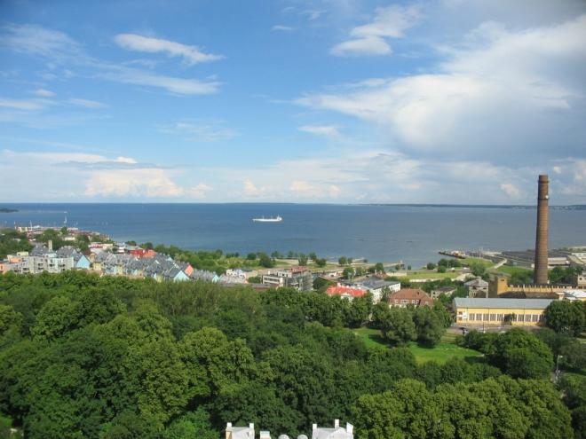 Výhled na Finský záliv