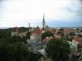 Tallinn, pohled z vrchu Toompea