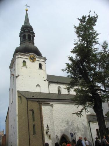 Podle této stavby získal kopec své jméno. Katedrála svaté Marie (Toomikirik), nejstarší kostel v Estonsku, založený Dány už v roce 1240, a údajně jediná budova, která v 17. století přežila velký požár celého horního města.