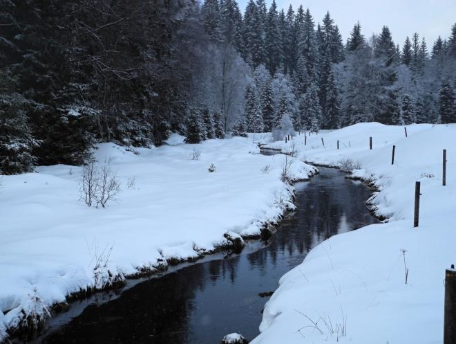 Kvildský potok.