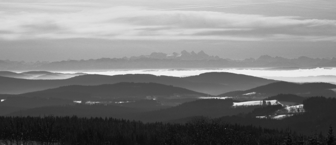 Ještě jednou Dachstein, tentokrát v plné kráse.