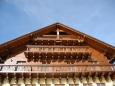 Štít hotelu Alpská vyhlídka.