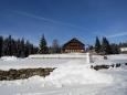 Zimní hotel Alpská vyhlídka.