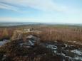 kopec nad bunkrem - to je hřeben s hrady Točník a Žebrák