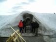 Ledový kostel v Bjorli