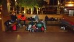 Nocování v Goteborgu na nádraží