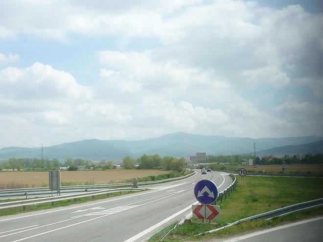 Na slovenské D1