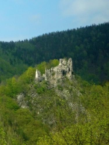 Starý hrad nedaleko Vrútek
